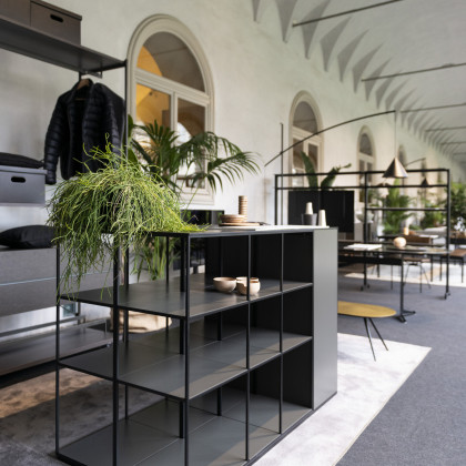 Milan Design Week 2019 | retail solutions in FENIX NTM Nero Ingo.
