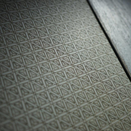 Laser engraving for FENIX NTM Grigio Antrim, combined with painted wood.