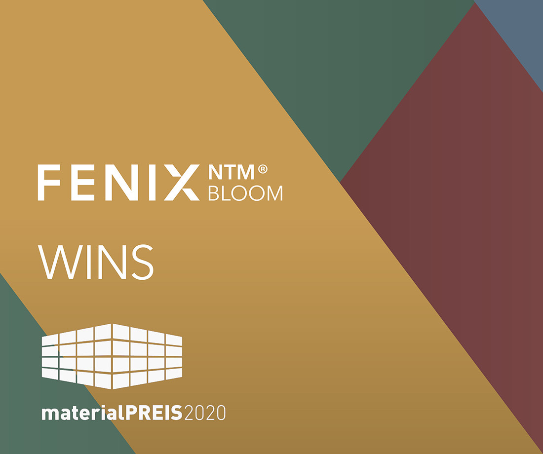 FENIX NTM<sup>®</sup> Bloom remporte le Materialpreis 2020