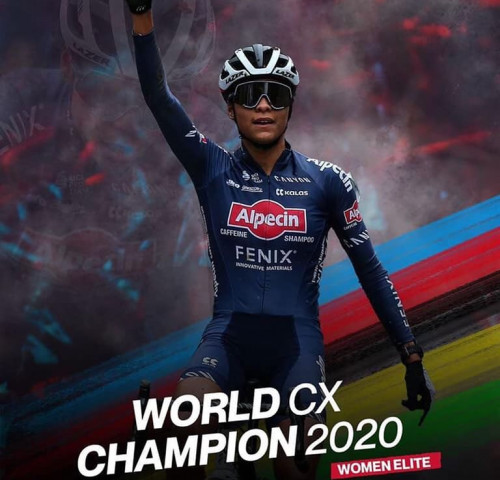Alvarado wins the 2020 UCI Cyclo-Cross Elite World Championship